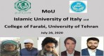 Islamic University of Italy and University of Tehran MoU